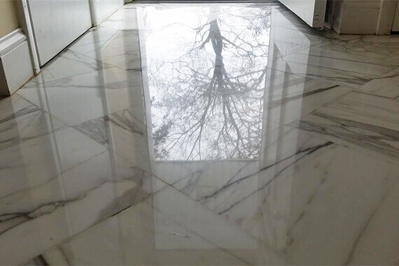 Brand New Look For 50-Year-Old Marble Floor