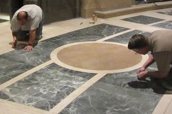 Historic Cathedral Marble Restoration