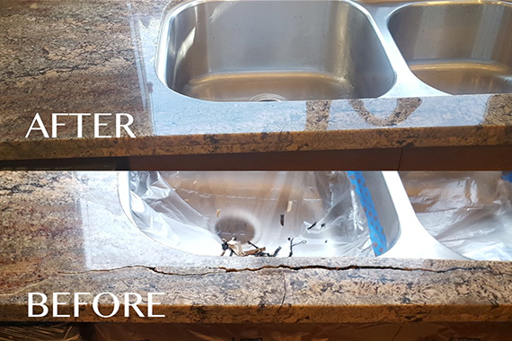 Granite Sink Repair